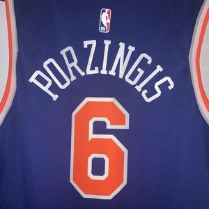 Nike Official stitched Porzingis Jersey